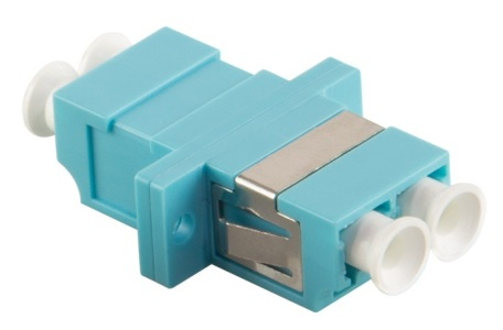 156151F-LC-LC-Duplex-Fiber-Optic-Adapter-Multimode-Aqua-OM3_im1.png