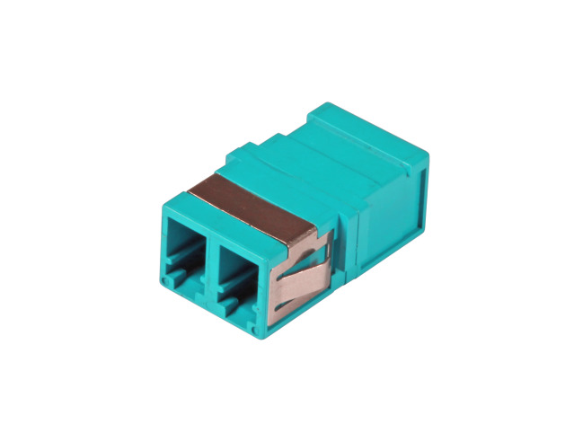 156172F-Fiber-optic-LC-LC-duplex-coupler-without-flange-aqua_im1.png